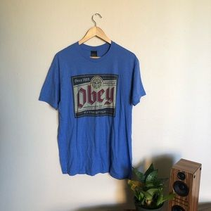 Blue Obey T-Shirt